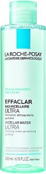 Міцелярна вода Очищаюча міцелярна рідина La Roche-Posay Effaclar Purifying Water 200 мл (3433422408357)