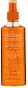 Масло для тела Масло сухое для интенсивного загара Collistar Supertanning Moisturizing Dry Oil SPF6 200ml 200 мл (8015150260343)