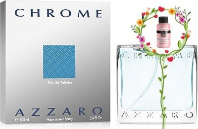 Мужская парфюмерия Туалетная вода Azzaro Chrome man edt 200ml (20224233)