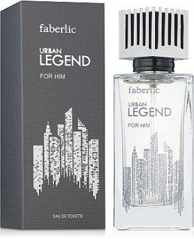 Мужская парфюмерия Туалетная вода Faberlic Urban Legend man edt 75ml (4690302426521)