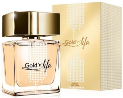 Парфюмированная вода Vittorio Bellucci Gold'n'Life woman edp 100ml