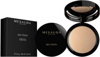 Пудра Запеченная пудра для лица в коробке Mesauda Milano Silk Touch Powder 201 - Naturelle (8057014299847)