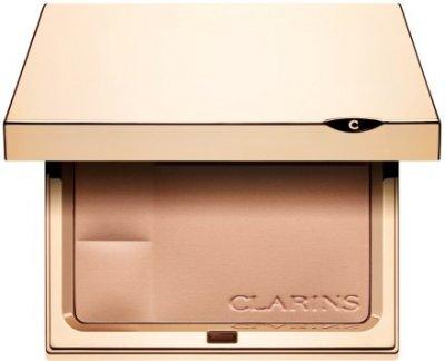 Пудра Компактная минеральная пудра с матирующим эффектом Clarins Ever Matte Shine Control Mineral Powder Compact 03 - Transparent Warm (3380814051816)
