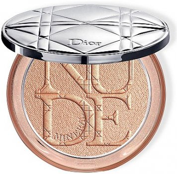 Пудра Осветляющая пудра для лица Dior Diorskin Mineral Nude Luminizer Powder 01 - Nude Glow (3348901399883)