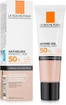 Тональное средство Солнцезащитный увлажняющий тональный крем для кожи лица, SPF50+ La Roche-Posay Anthelios Mineral One 03 - Bronzee/Tan (3337875706681)