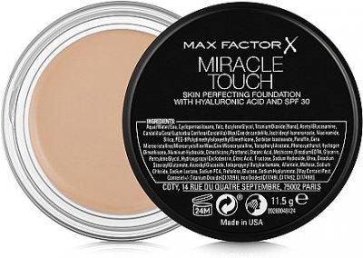 Тональное средство Тональная основа Max Factor Miracle Touch SPF30 78 - Sand Beige (3614227962873)