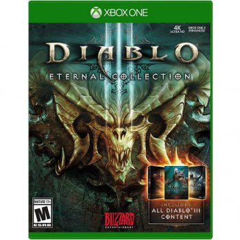 Игра Xbox Diablo III Eternal Collection [Blu-Ray диск] (88218EN)