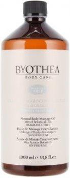 Масло для массажа нейтральное, без запаха Byothea Massage Oil Neutral Odorless 1000 мл (8054377032081)