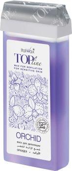 Воск для депиляции ItalWax Top Line Орхидея в картридже 100 мл (8032835168046)
