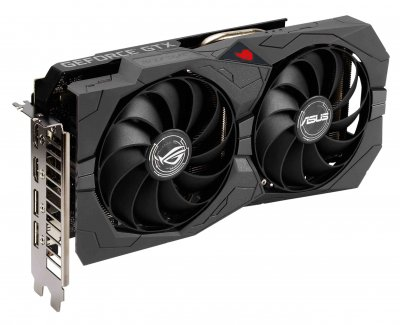Asus PCI-Ex GeForce GTX 1650 ROG Strix Gaming OC Edition 4GB GDDR6 (128bit) (1410/12000) (2 x DisplayPort, 2 x HDMI) (ROG-STRIX-GTX1650-O4GD6-GAMING)