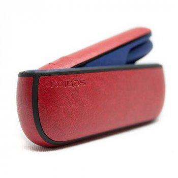 Чохол IQOS 3/3 DUO еко шкіра + бічна панель RED
