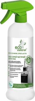 Спрей чистящий для бытовой техники и кухонных поверхностей ECO Control Анти-жир 500 мл (4823080005149)