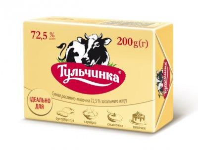 Суміш рослинно-молочна 72,5% Тульчинка еколін 200 г