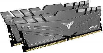 Модуль пам'яті DDR4 2x16GB/3200 Team T-Force Dark Z Gray (TDZGD432G3200HC16CDC01)