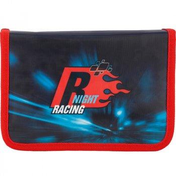 Пенал школьный Kite 621 Racing night K17-621-5 Синий