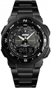 Чоловічий годинник Skmei 1370BOXBKBK Black/Black BOX