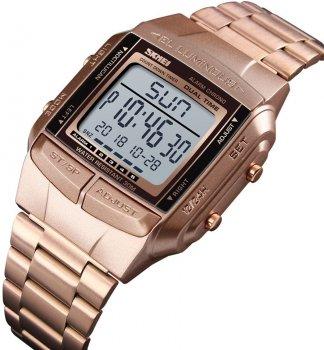 Чоловічий годинник Skmei 1381BOXRG Rose Gold BOX