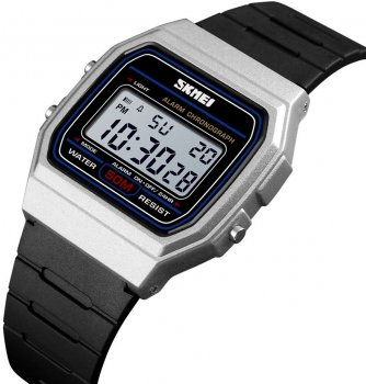 Мужские часы Skmei 1412BOXSI Silver BOX