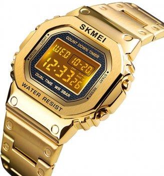 Чоловічий годинник Skmei 1456BOXGD Gold BOX