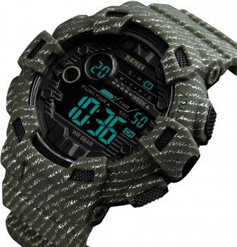 Мужские часы Skmei 1472BOXAG Army Green BOX