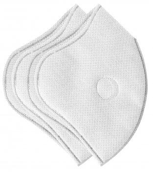 Набор сменных фильтров XoKo для маски с 2 клапанами 2 шт Белый (XK-FP2Bl)