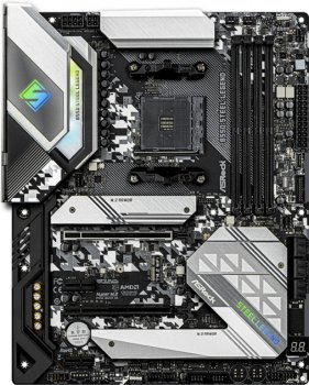 Материнська плата ASRock B550 Steel Legend (sAM4, AMD B550, PCI-Ex16) (WY36dnd-255495)