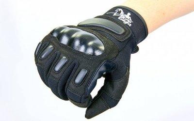 Перчатки тактические с закрытыми пальцами SILVER KNIGHT BC-7052 /2 (р-р L, черный)