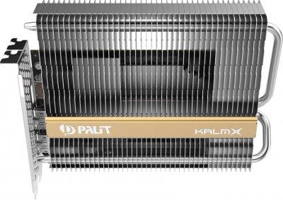 Palit PCI-Ex GeForce GTX 1650 KalmX 4GB GDDR5 (128bit) (1485/8000) (HDMI, 2 х DisplayPort) (NE5165001BG1-1170H)