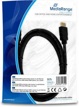 Кабель MediaRange HDMI с Ethernet 1.5 м (MRCS139)