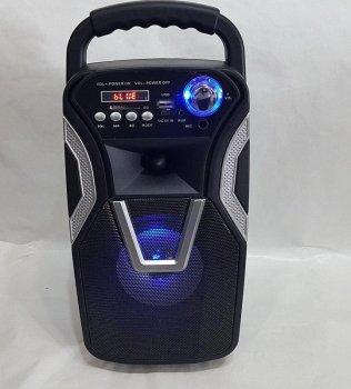 Акустична система Ailiang LIGE-3611-DT бездротова по Bluetooth 10 Вт з підтримкою AUX, USB Чорна (11190)