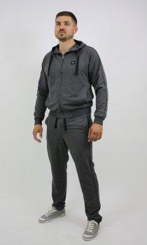 Спортивний костюм Free Agent new канти ІК штани прямі Сірий