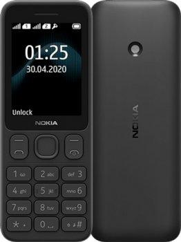Мобільний телефон Nokia 125 TA-1253 DualSim Black (16GMNB01A17)