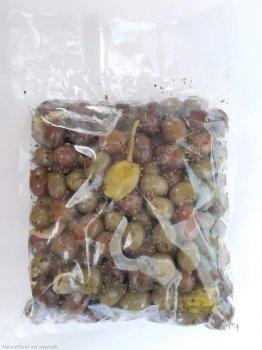 """Мікс оливок та перчиків у маринаді Kalimera """"Наполі"""", 560 г"""