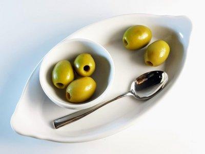 Оливки Kalimera зелені Халкідікі без кісточки 91-100, 1550 р