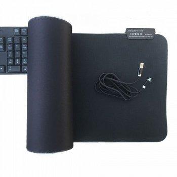 Игровая поверхность RGB-L с подсветкой (30x78) black