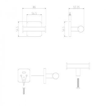 Крючок GF (CRM) 2705-2