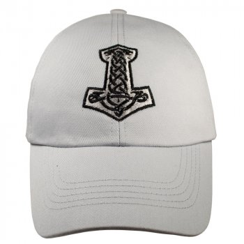 Бейсболка Talisman МОЛОТ ТОРА Светло-серый (RB144)