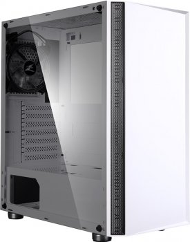 Корпус Zalman R2 RGB White Tempered Glass