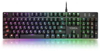 Клавіатура дротова Vinga KBGM-395 USB
