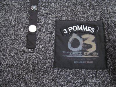 Поло для мальчика 3pommes 15013 Темно-серый