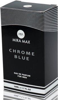 Парфюмированная вода для мужчин Mira Max Chrome Blue 50 мл (4820218791196)
