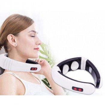 Массажер для шеи и спины портативный Neck Massager KL-5830 PLUS (VJ_1455)