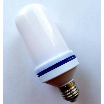 Лампа світлодіодна з ефектом полум'я вогню UKC LED Flame Bulb MAX (Nim)