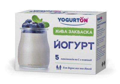 Бактеріальна закваска «Йогурт Класичний YOGURTON»