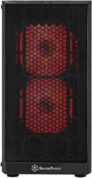 Корпус Silverstone Precision SST-PS15B-RGB TG Black (SST-PS15B-RGB)