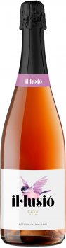 Вино игристое IL Lusio Cava Rose розовое брют 0.75 л 11.5% (8410644122136)