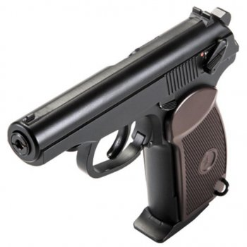 Пневматичний пістолет SAS Makarov Blowback (KMB-44АHN)