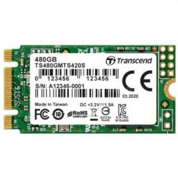 Накопичувач SSD M. 2 2242 480GB Transcend (TS480GMTS420S)