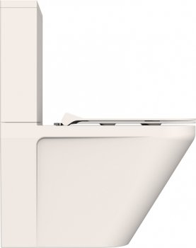Унітаз-компакт DEVIT Up 3010120 безобідковий із сидінням New Soft Close Quick-Fix дюропласт