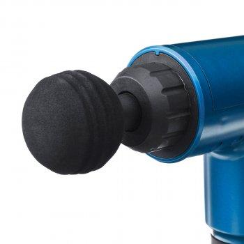 Портативный ручной мышечный массажер для тела Fascial Gun MP-320 Синий